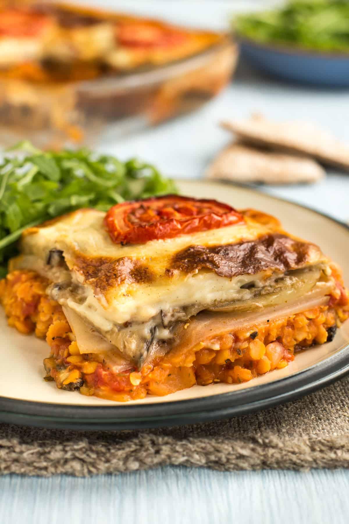 Vegetarian Moussaka Easy Cheesy Vegetarian