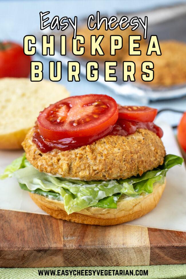 Easy cheesy chickpea burgers 11 copy