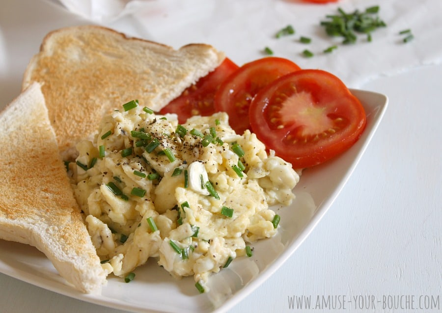 recipe: scrambled egg recipes with cheese [29]