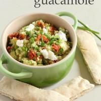 Goat's cheese guacamole