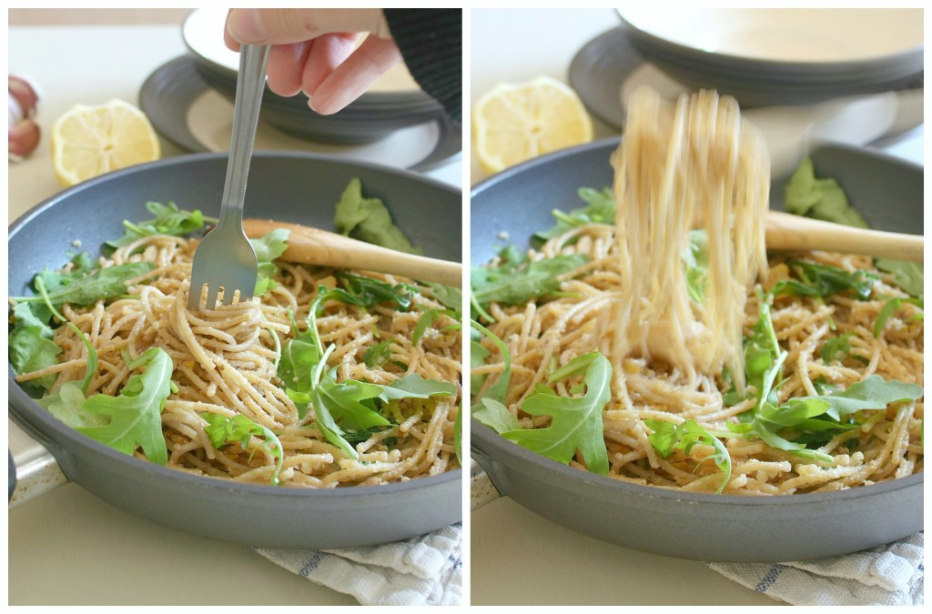 Brown butter lemon and walnut pasta [Amuse Your Bouche]