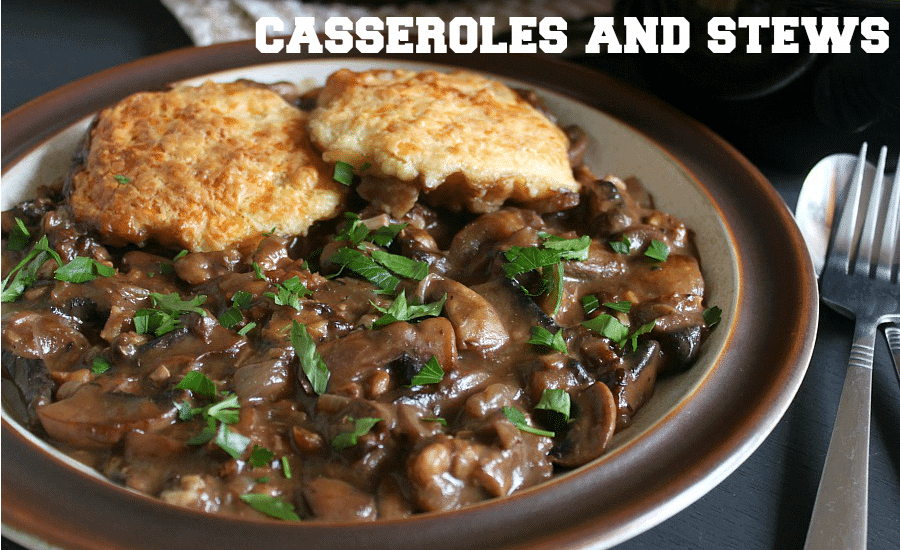 Mushroom casseroles and stews [Amuse Your Bouche]