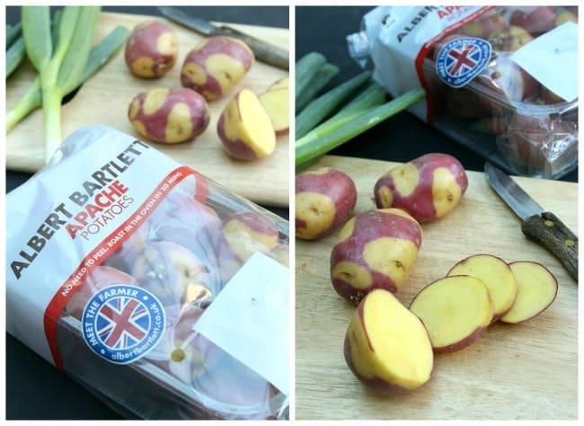Apache potatoes