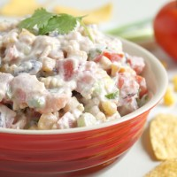 Creamy Mexican-style dip