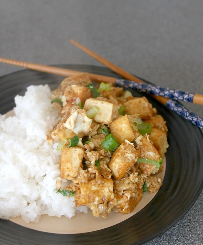 Quick Asian-style tofu