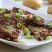 Irish boxties (potato pancakes)