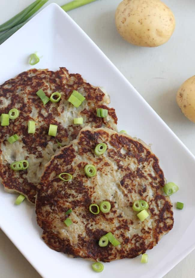 Irish boxties (potato pancakes) / amuse-your-bouche.com