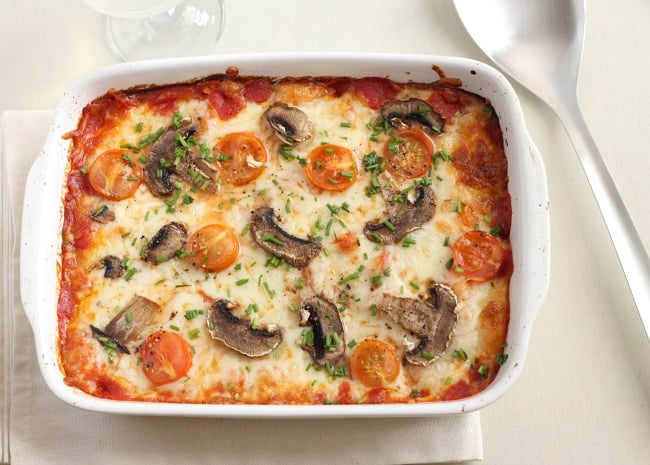 Pizza baked gnocchi