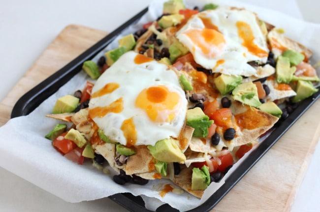 Breakfast nachos - finally an excuse to eat nachos for breakfast...!