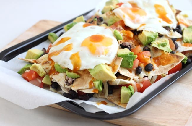 Breakfast nachos - finally an excuse to eat nachos for breakfast...!