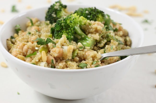 recipe: vegan quinoa broccoli [16]