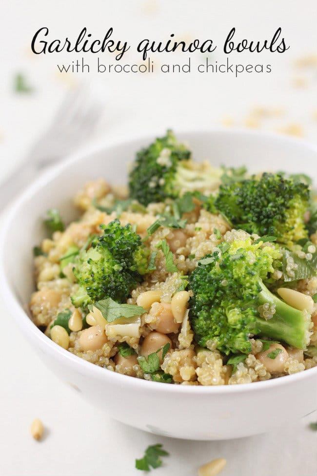 recipe: vegan quinoa broccoli [1]