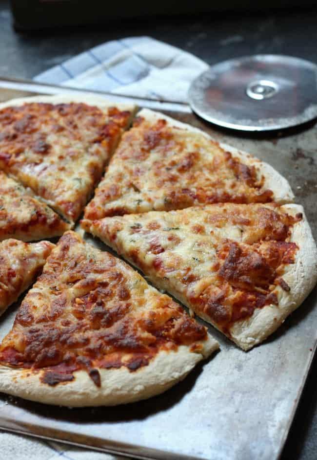 Beer pizza crust