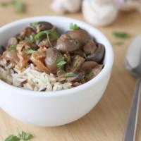 Crock-Pot mushroom stroganoff (Crock-Pot giveaway!)