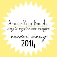 3rd blog birthday (Amuse Your Bouche reader survey!)