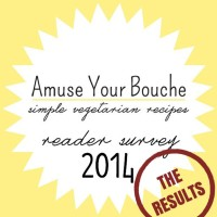 Amuse Your Bouche Reader Survey 2014: The Results!