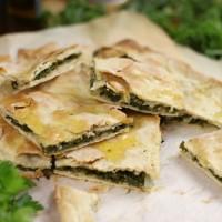 Croatian soparnik (kale pie)