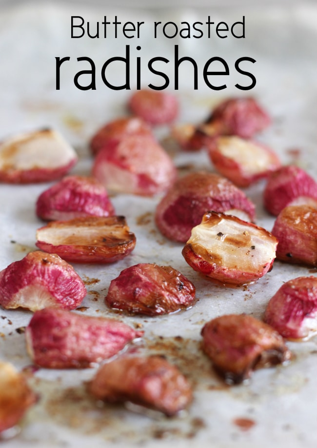 Simple Roasted Radishes Recipe — Dishmaps