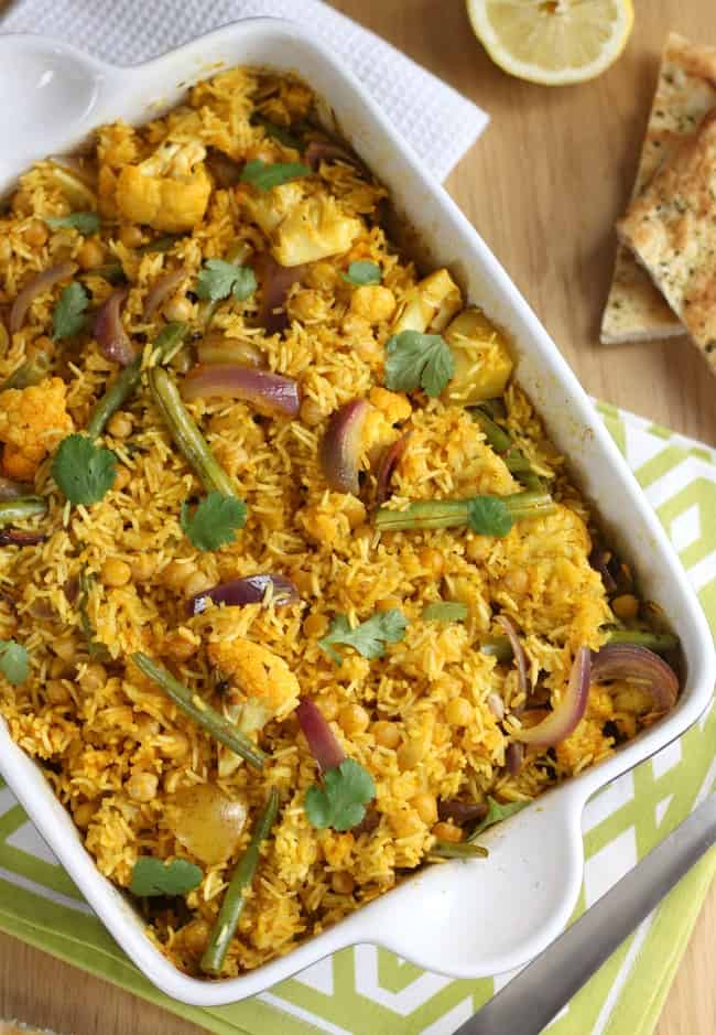 Easy chickpea biryani amuse your bouche easy chickpea biryani serve with a veggie curry sauce or just a dollop of forumfinder Images