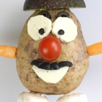 Edible Mr Potato Head