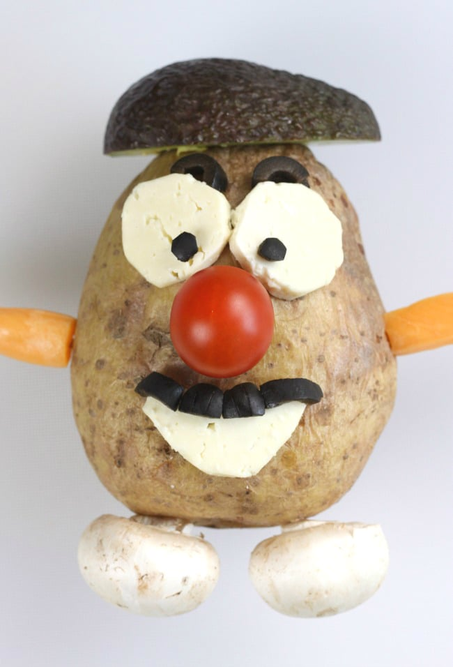 Edible Mr Potato Head! Share your own funny bake for Red Nose Day 2015 using #raisesomedough