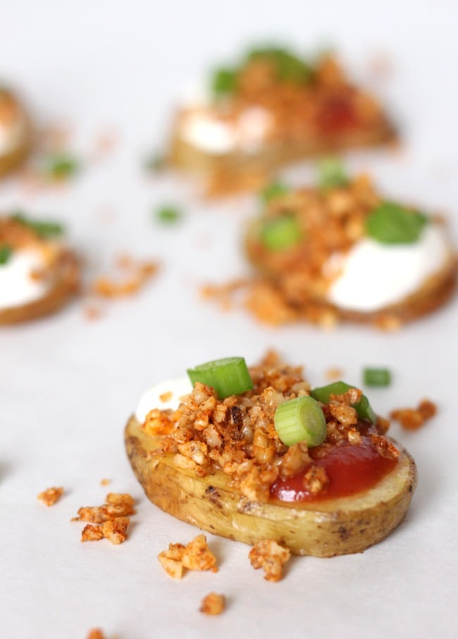 Taco potato crisps