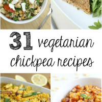 31 vegetarian chickpea recipes