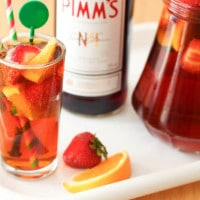 Traditional British Pimm's