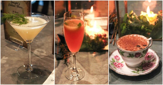 Tea-inspired cocktails at the Russell Hobbs Legacy event to celebrate 60 years of the electric kettle