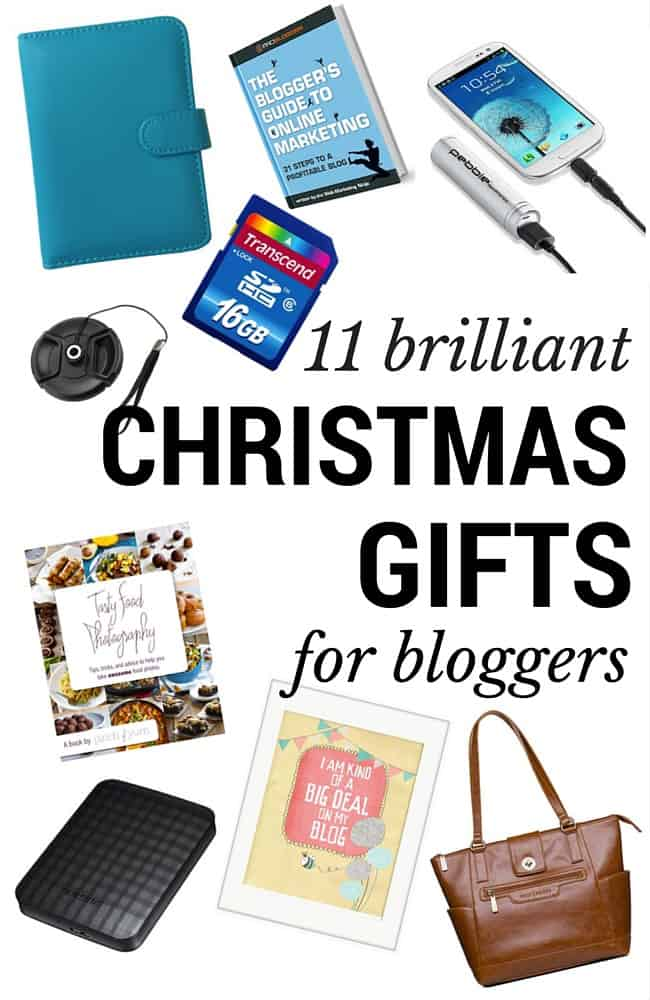 11 brilliant Christmas gifts for bloggers - some practical, some pretty, all price points... there's something here for everyone! :)