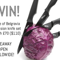 Edge of Belgravia knife set giveaway (open worldwide!)