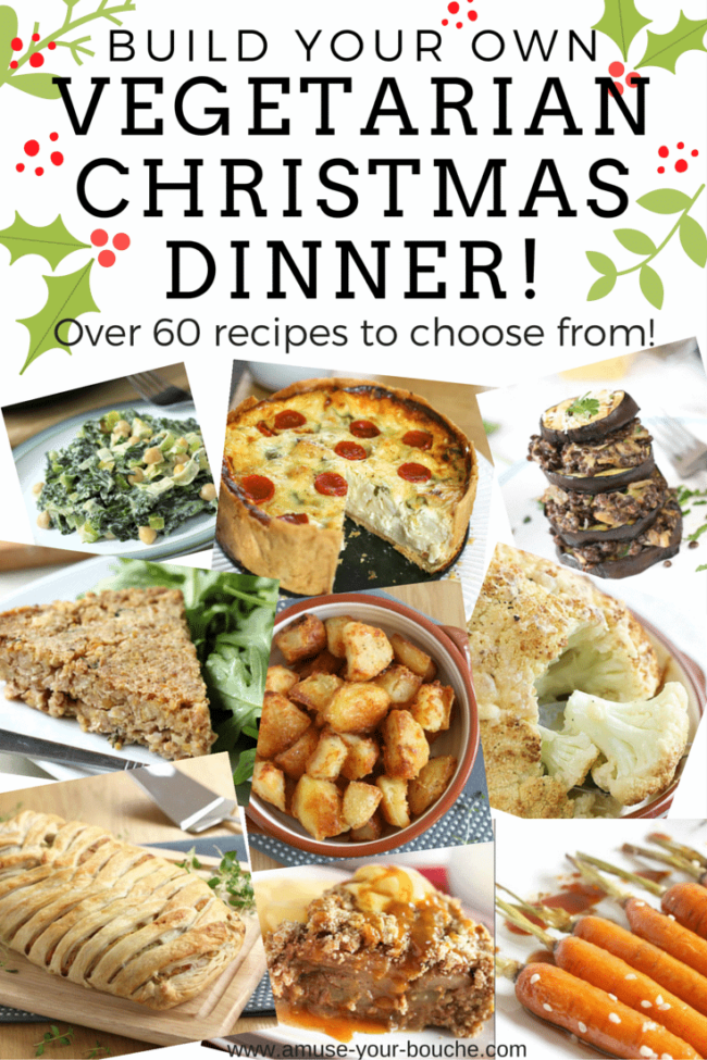 Build your own vegetarian Christmas dinner