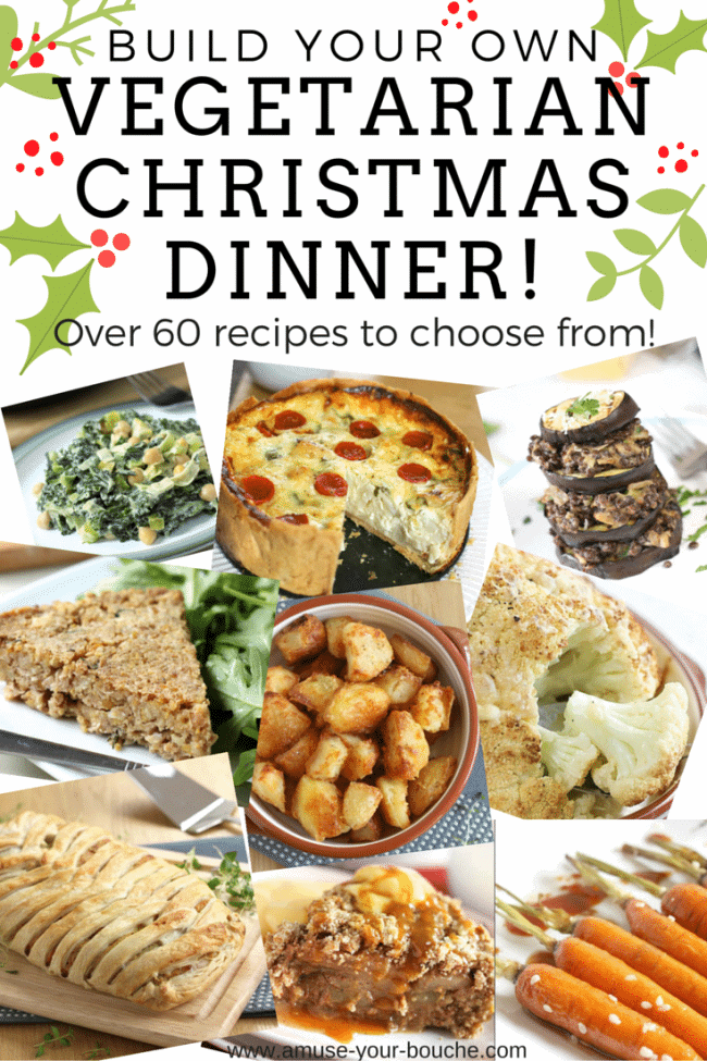 Build your own vegetarian Christmas dinner