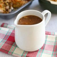 The best homemade vegetarian gravy