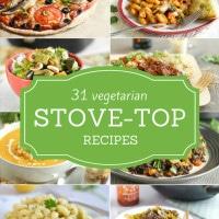 31 vegetarian stove-top recipes