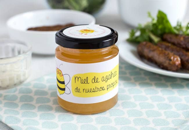 Honey from a beautiful family-owned farm in Valencia, Spain. You can adopt your own beehive, which helps the farmers reduce food waste. Such a brilliant concept!