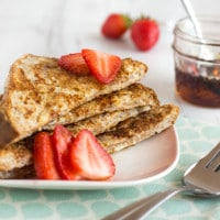 Healthier French toast