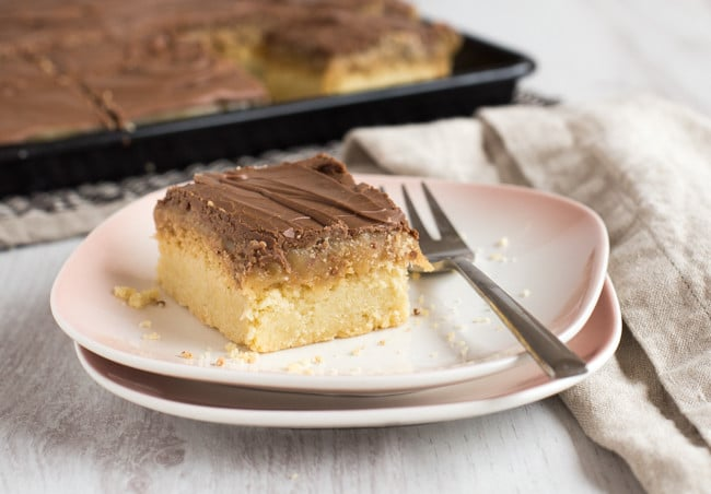 Homemade peanut butter millionaire's shortbread - holy moly! This stuff is AMAZING. And really easy to make too!