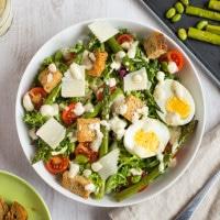 Ultimate vegetarian Caesar salad