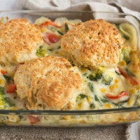 Vegetable cobbler