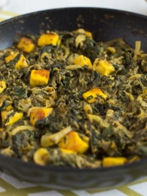 30 Minute Saag Paneer Easy Cheesy Vegetarian