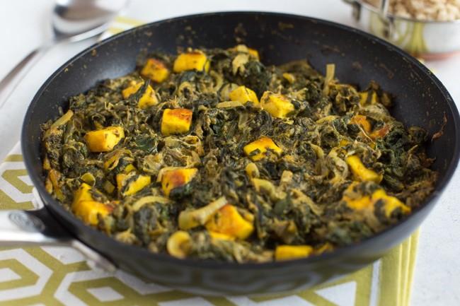 30 Minute Saag Paneer Easy Cheesy Vegetarian