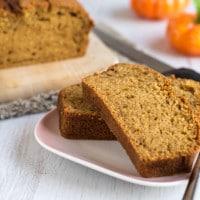 Pumpkin spice loaf cake