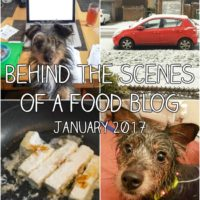 Behind the scenes of a food blog: January 2017