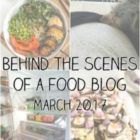 Behind the scenes of a food blog: March 2017