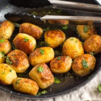 Buttery chateau potatoes