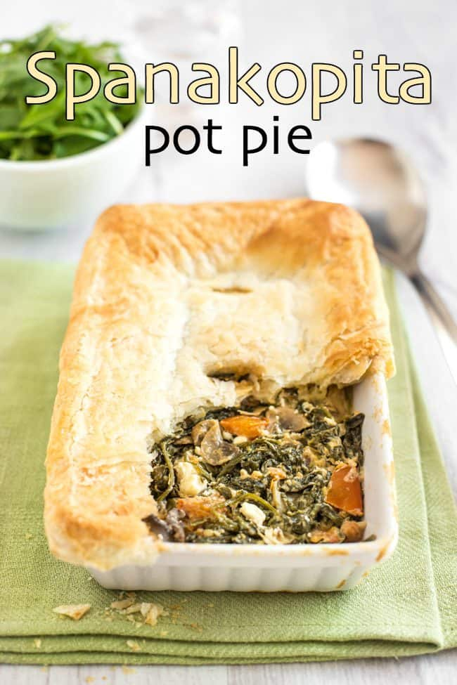 Spanakopita pot pie