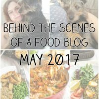Behind the scenes of a food blog: May 2017