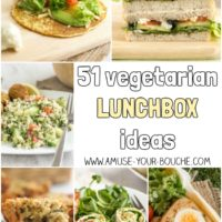51 vegetarian lunchbox ideas