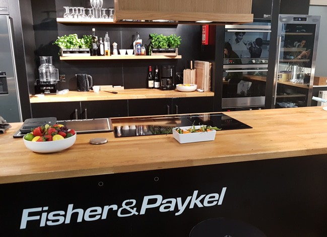 Fisher & Paykel kitchen